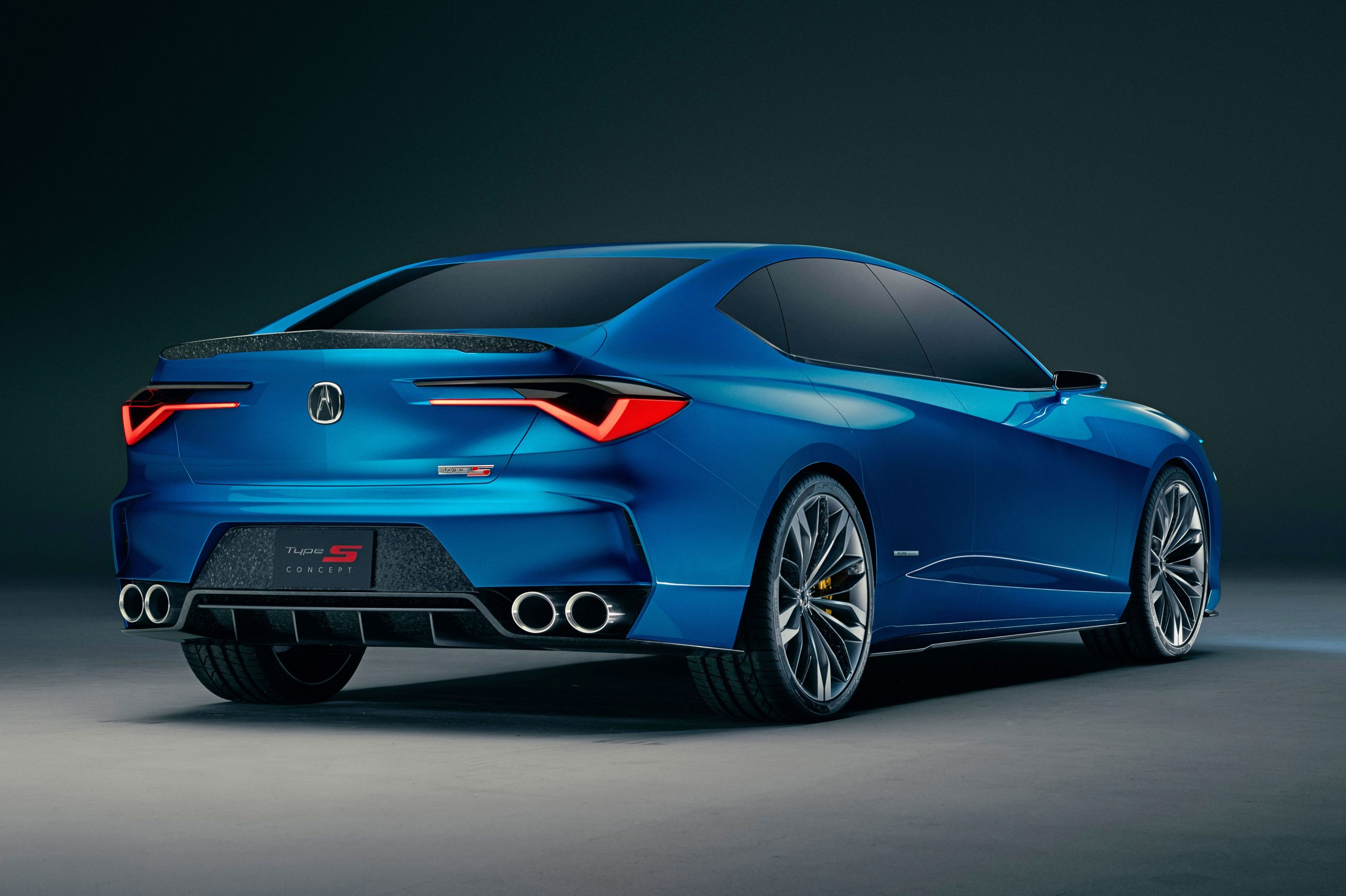 3 Acura TLX Type S Sports Sedan Will Pack a Powerful Turbo V-3