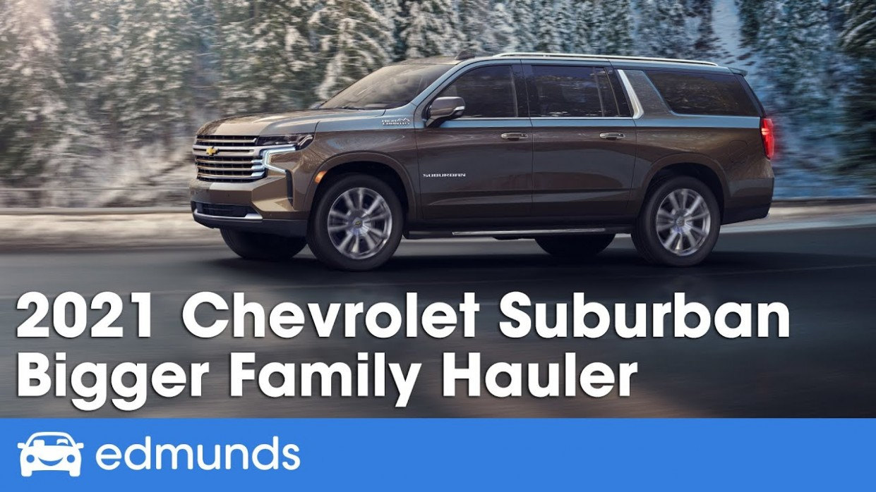 3 Chevrolet Suburban Reveal & Details - When Will The 2021 Chevrolet Suburban Be Released