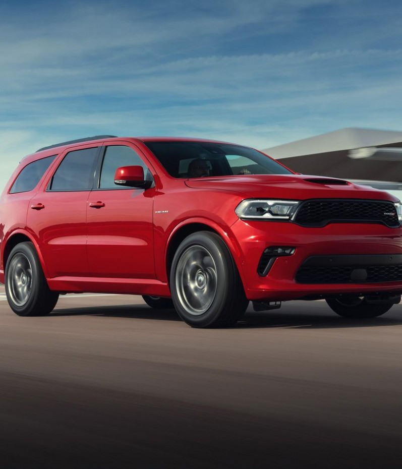 3 Dodge Durango is a mean-faced muscle SUV, even without the
