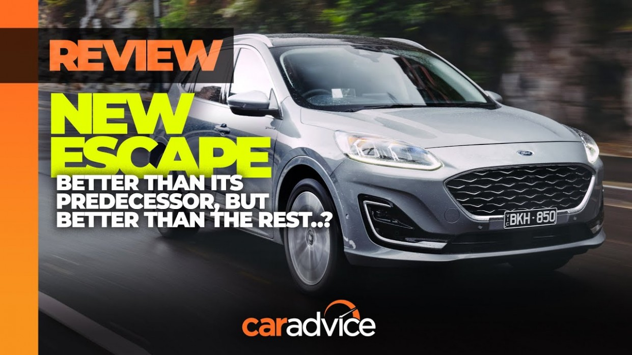 3 Ford Escape First Drive Review CarAdvice - 2021 Ford Escape Youtube