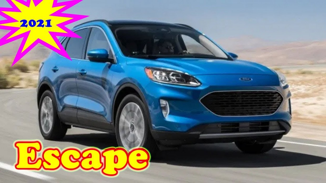 3 ford escape titanium 3 ford escape hybrid 3 ford escape st Interior, Price - 2021 Ford Escape Youtube