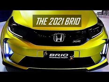 3 honda BRIO - The all New Satya with TOP CVT Interior and Exterior Review - honda brio 2021
