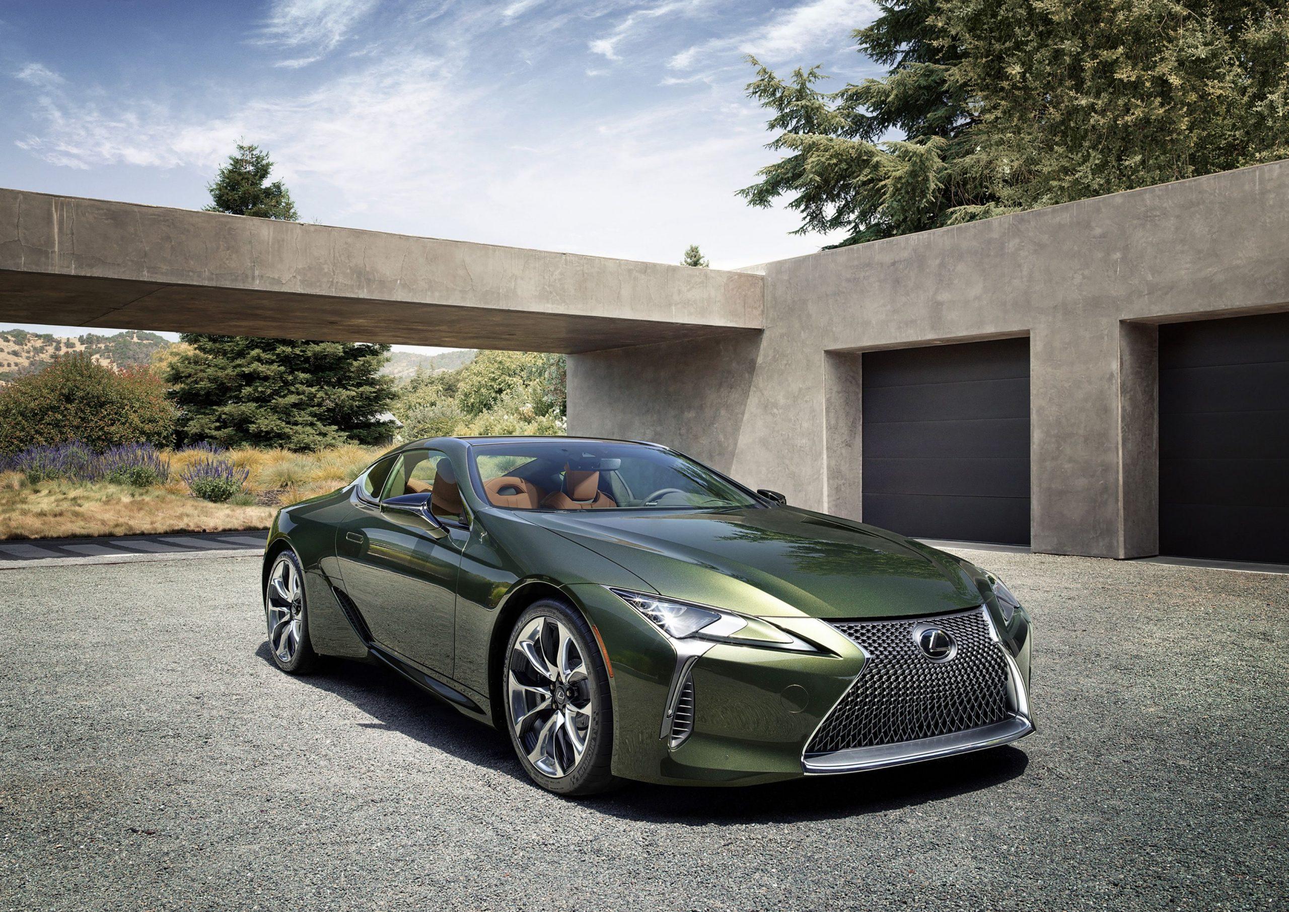 3 Lexus LC Coupe Gets Android Auto, Suspension Tweaks