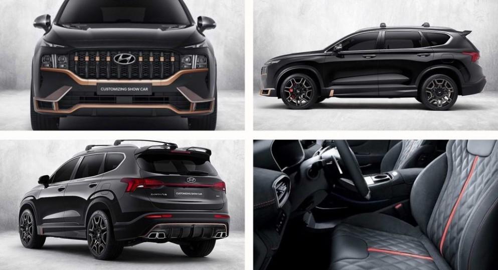 4 Hyundai Santa Fe Gets N Performance Parts In South Korea - 2021 Hyundai Santa Fe N
