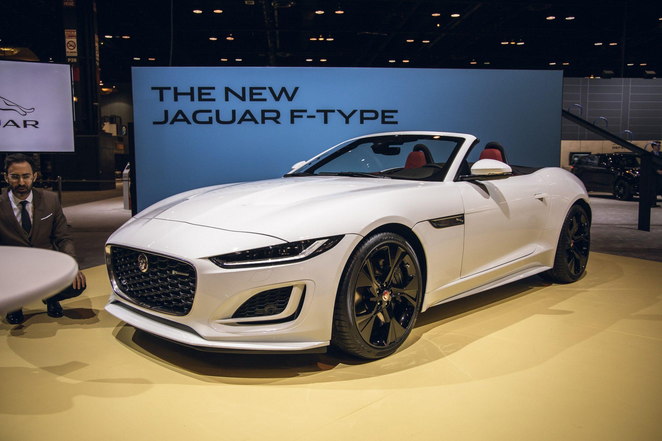 4 Jaguar F-Type Looks Edgier, Simplifies Engine Lineup - Jaguar Coupe 2021
