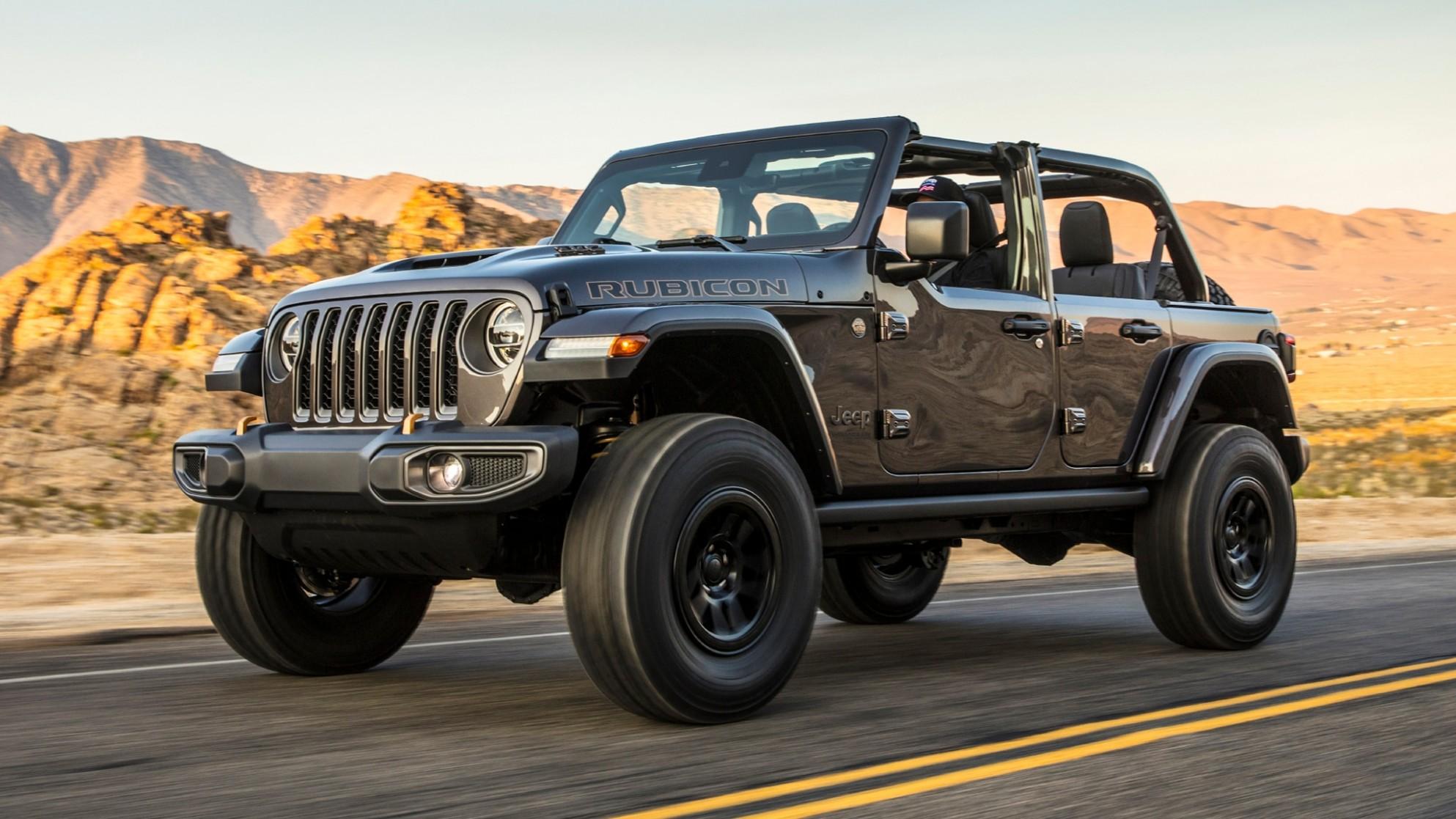 4 Jeep Wrangler Rubicon 4 First Look: The Heckcat Wrangler V - Jeep Jl 2021