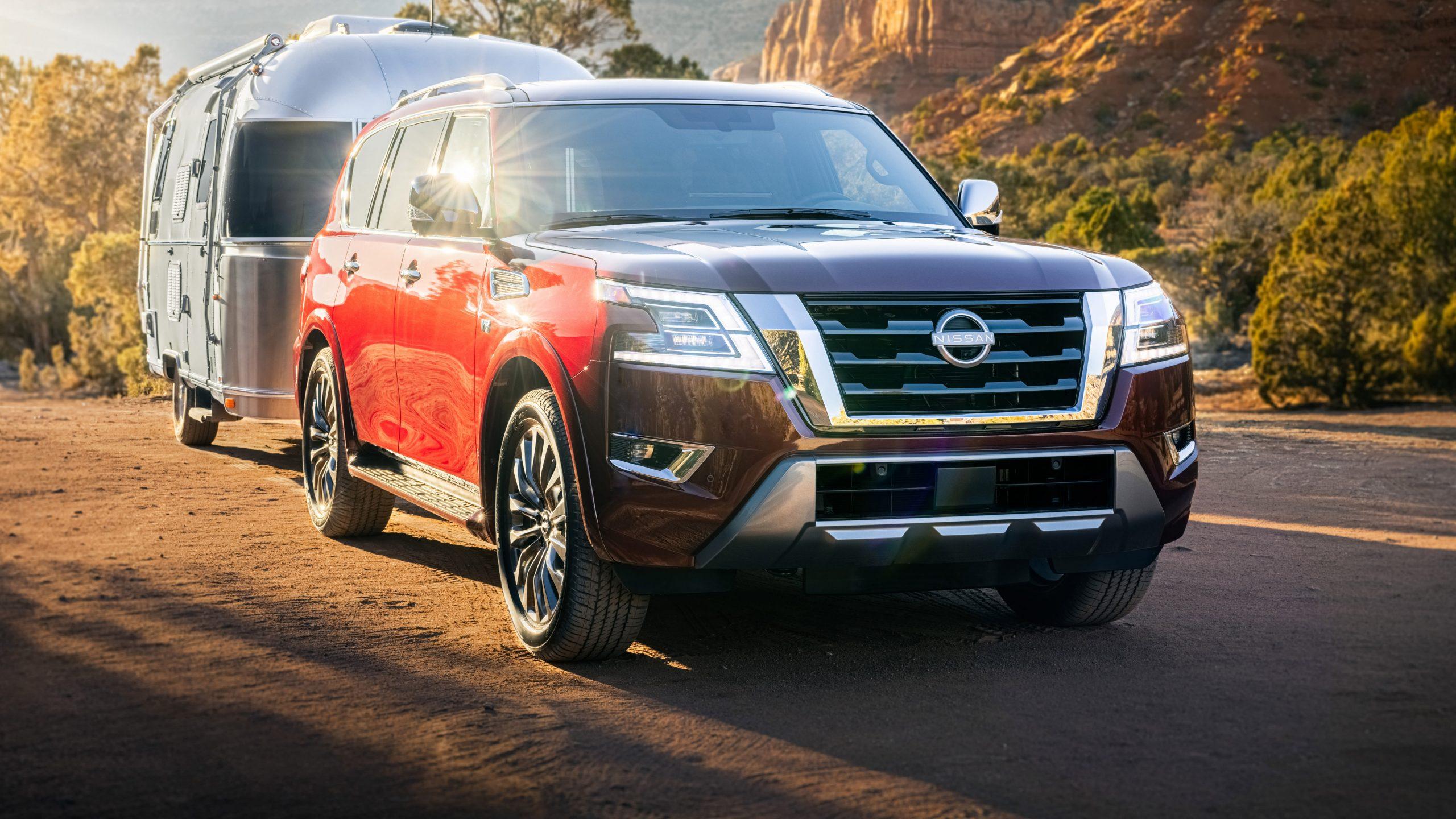 4 Nissan Patrol facelift unveiled – UPDATE: Australian arrival - Nissan Patrol Facelift 2021