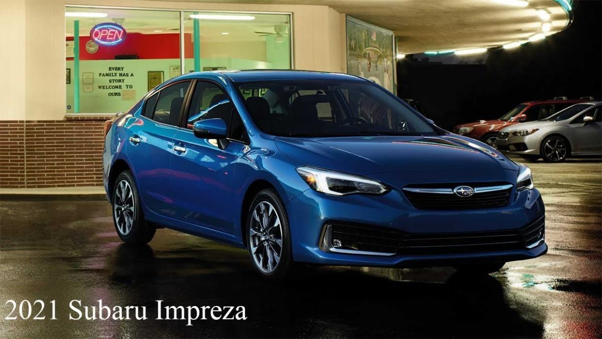 4 Subaru Impreza USA - Sport, Limited, Premium, Base // PRICE US // Hatchback 4-door & Sedan - Subaru Impreza 2021