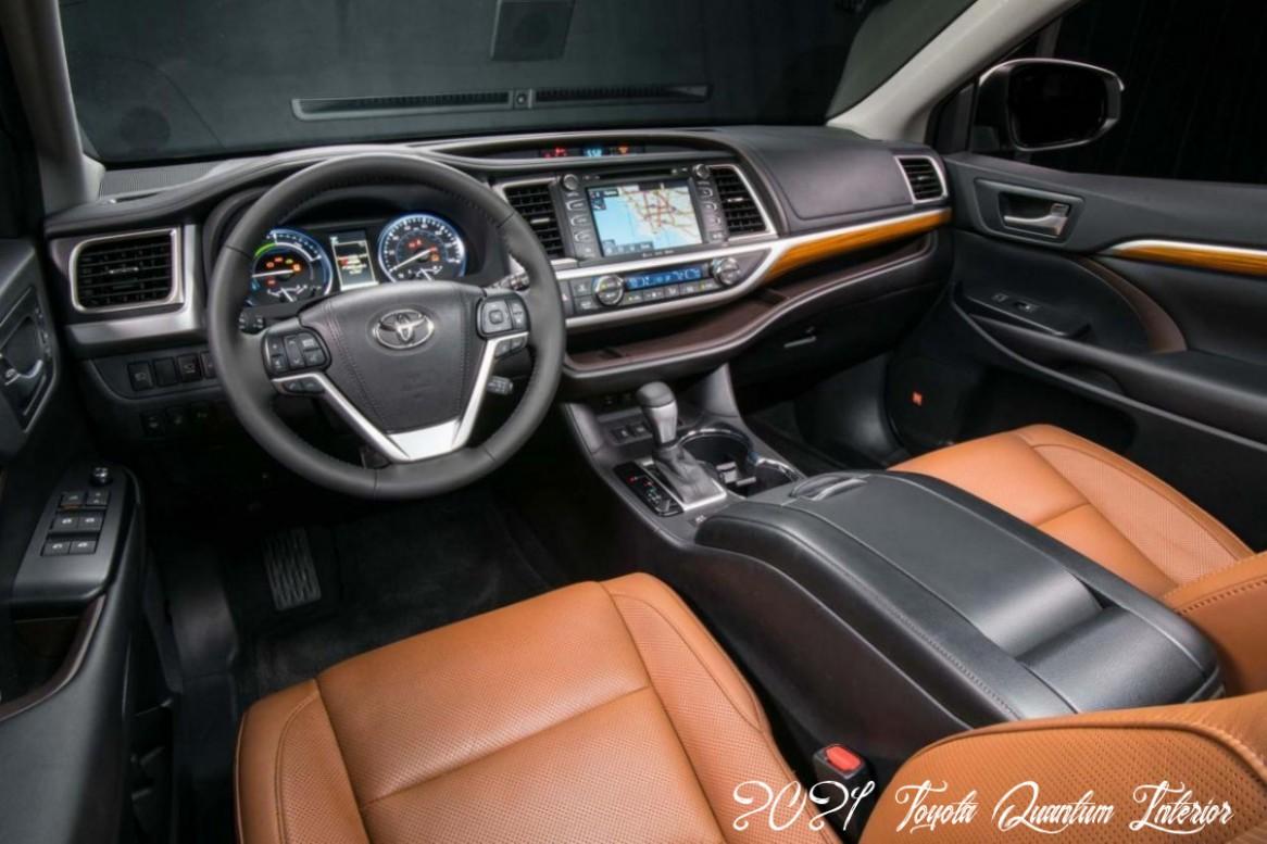 4 Toyota Quantum Interior Specs And - 2021 Toyota Quantum Interior