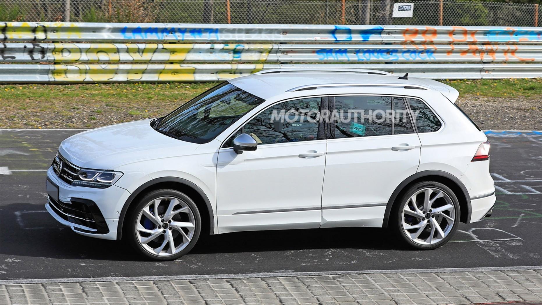 4 Volkswagen Tiguan R spy shots and video - Volkswagen Suv 2021