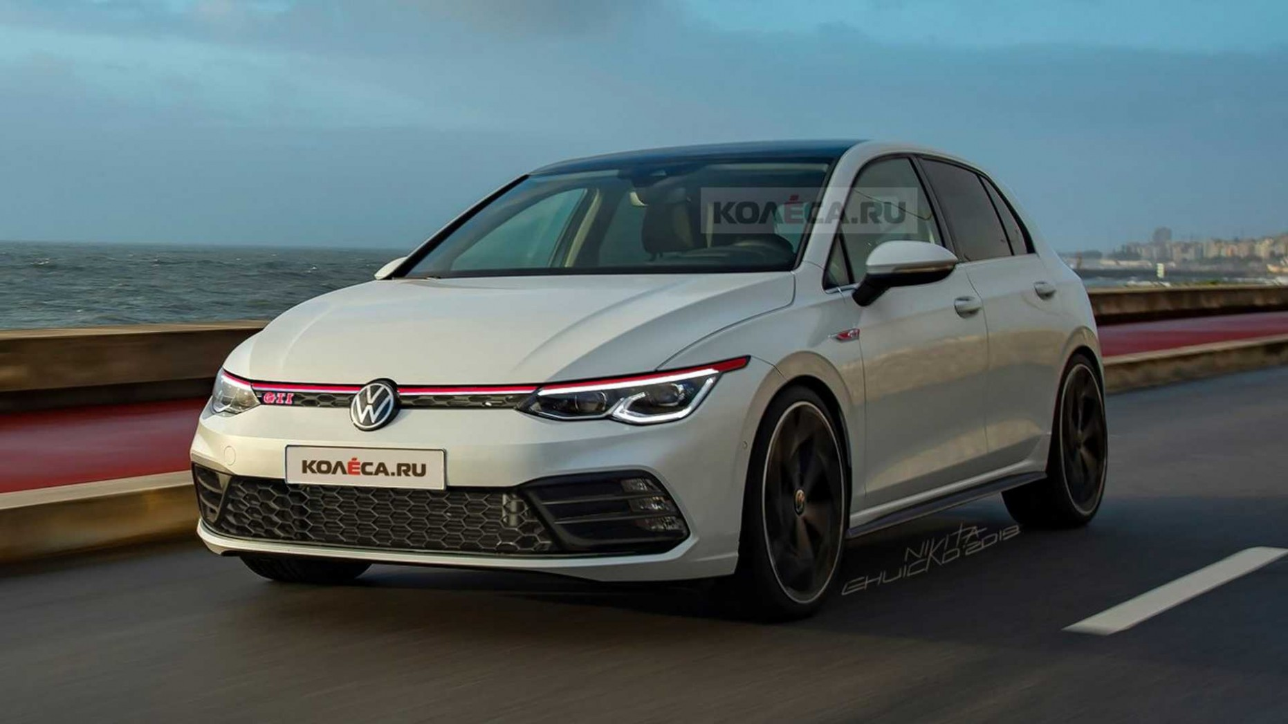 4 VW Golf GTI Imagined In Highly Plausible Rendering - 2021 Volkswagen Golf Mk8