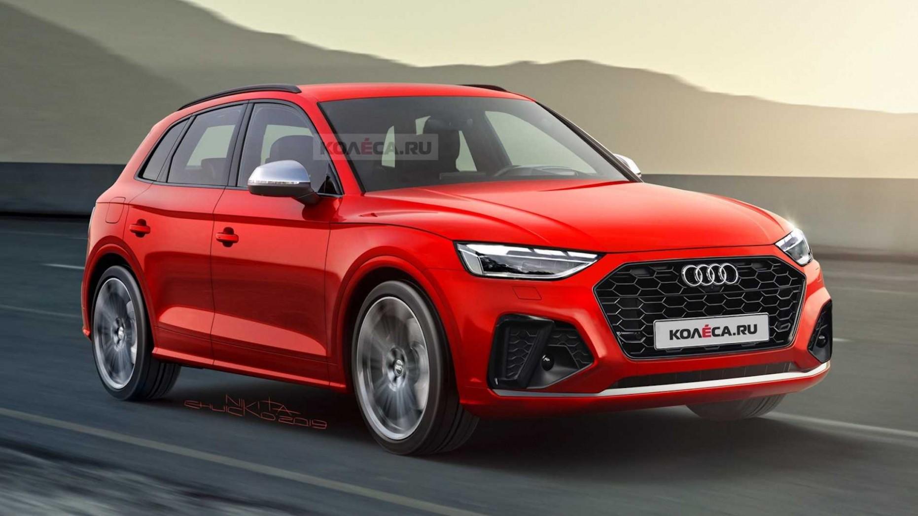 5 Audi Q5 Facelift Rendered, Looks Better - autoevolution - Audi Facelift 2021