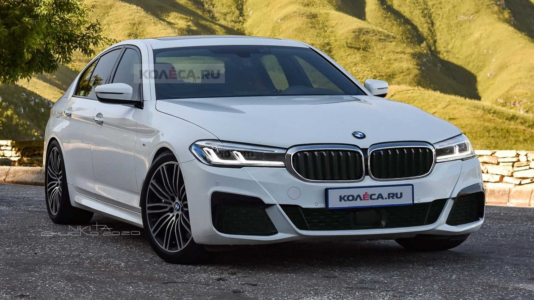 5 BMW 5 Series Rendering Imagines The Subtle Facelift - BMW New 5 Series 2021