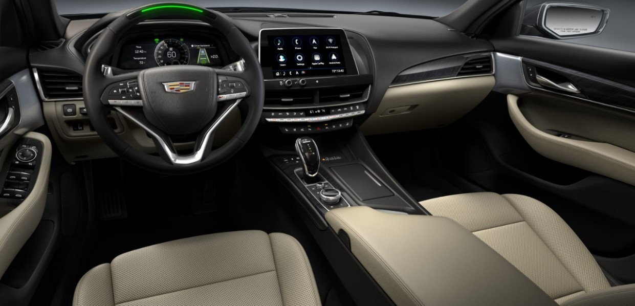 5 Cadillac CT5 and CT5 Add More Tech, Safety and Design Elements - 2021 Cadillac Ct5 Interior