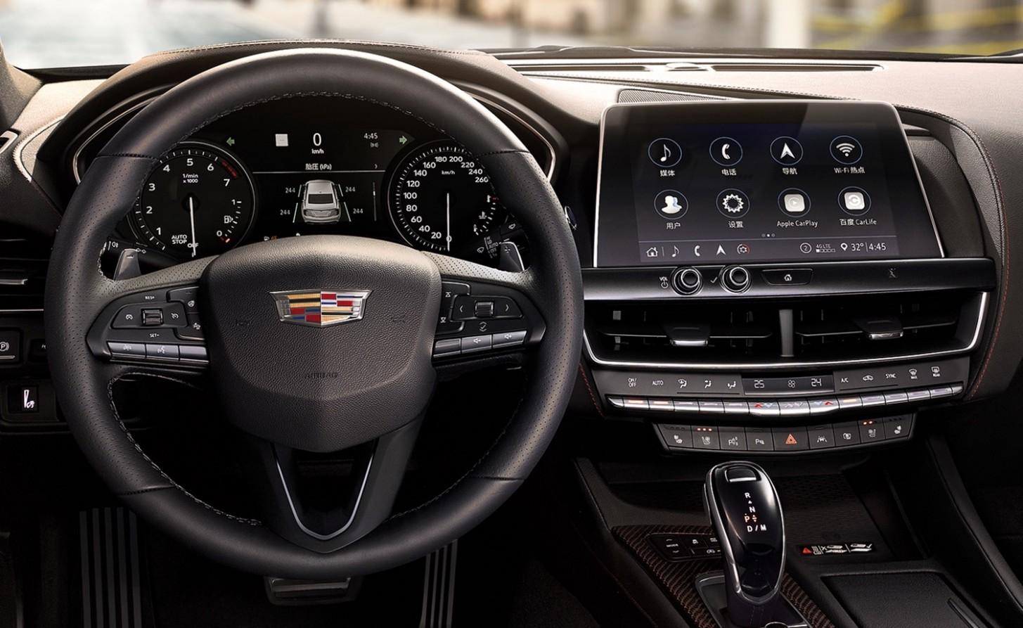 5 Cadillac CT5, CT5-V To Offer All-Digital Gauge Cluster  GM