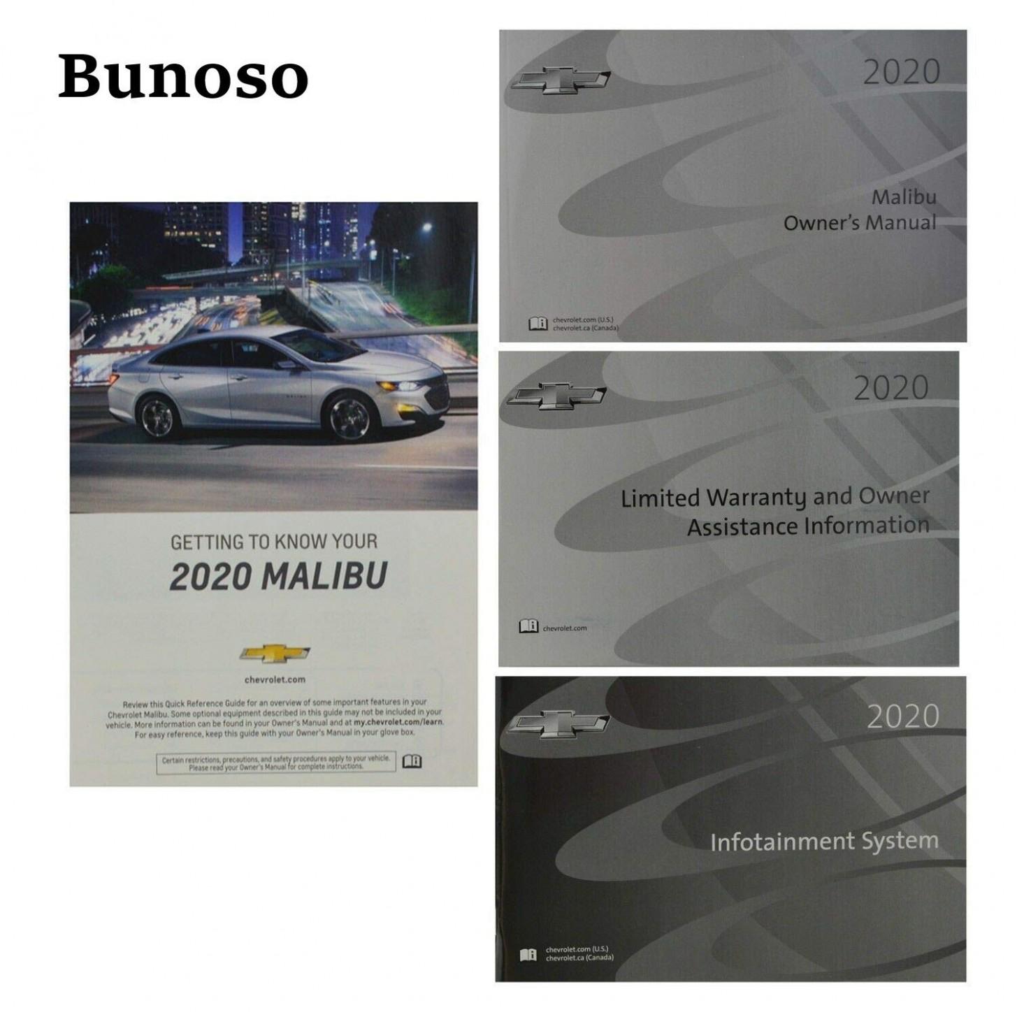 5 Chevrolet Chevy Malibu Owners Manual 5: Chevrolet - 2020 chevrolet owners manual
