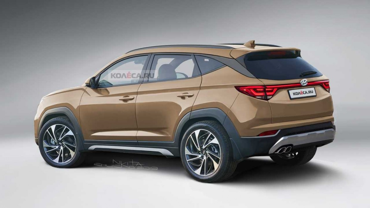 5 Hyundai Tucson Rendering Takes After The Latest Spy Shots - Hyundai Tucson Redesign 2021