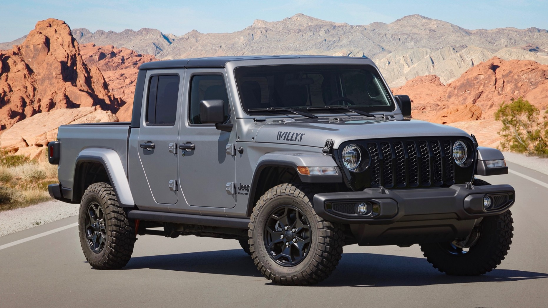 5 Jeep Gladiator Willys adds off-road hardware to lower trim levels