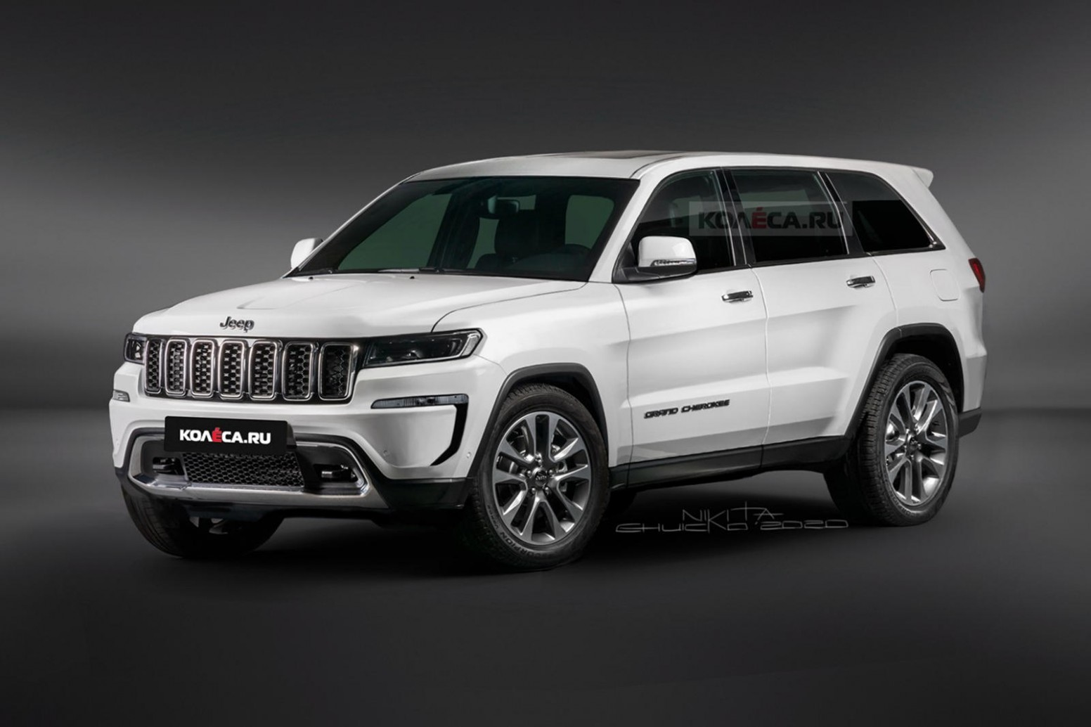 5 Jeep Grand Cherokee Will Be One Handsome SUV CarBuzz - Jeep Suv 2021