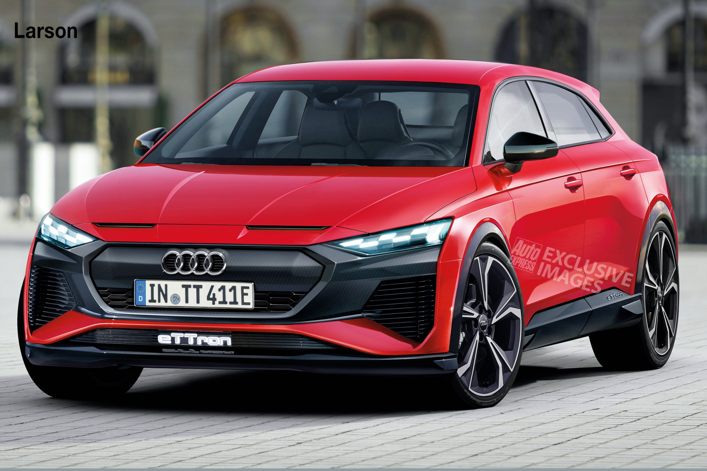Audi TT set to morph into all-electric crossover  Auto Express