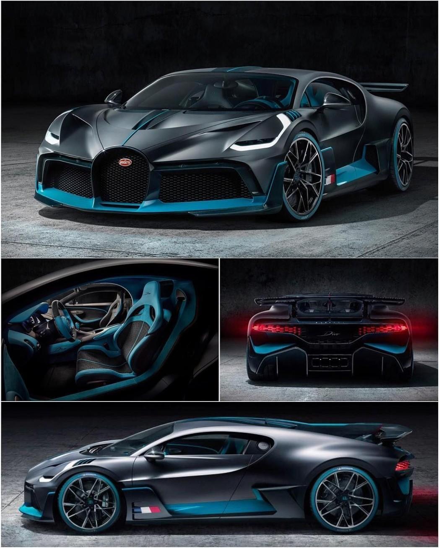 Bugatti Divo - The fastest cars in the world