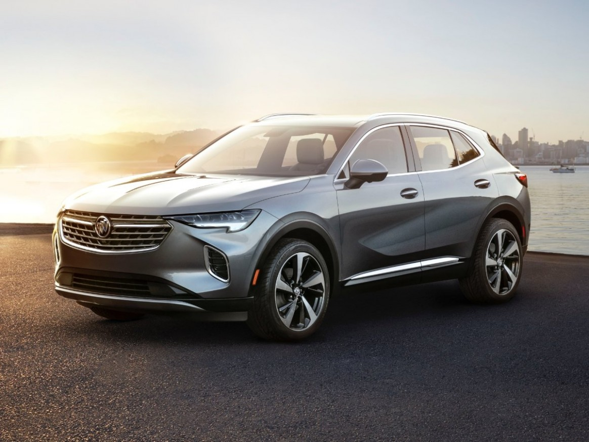 Changes to 5 Buick Models are Modest, But an All-New Envision - 2021 Buick Lineup