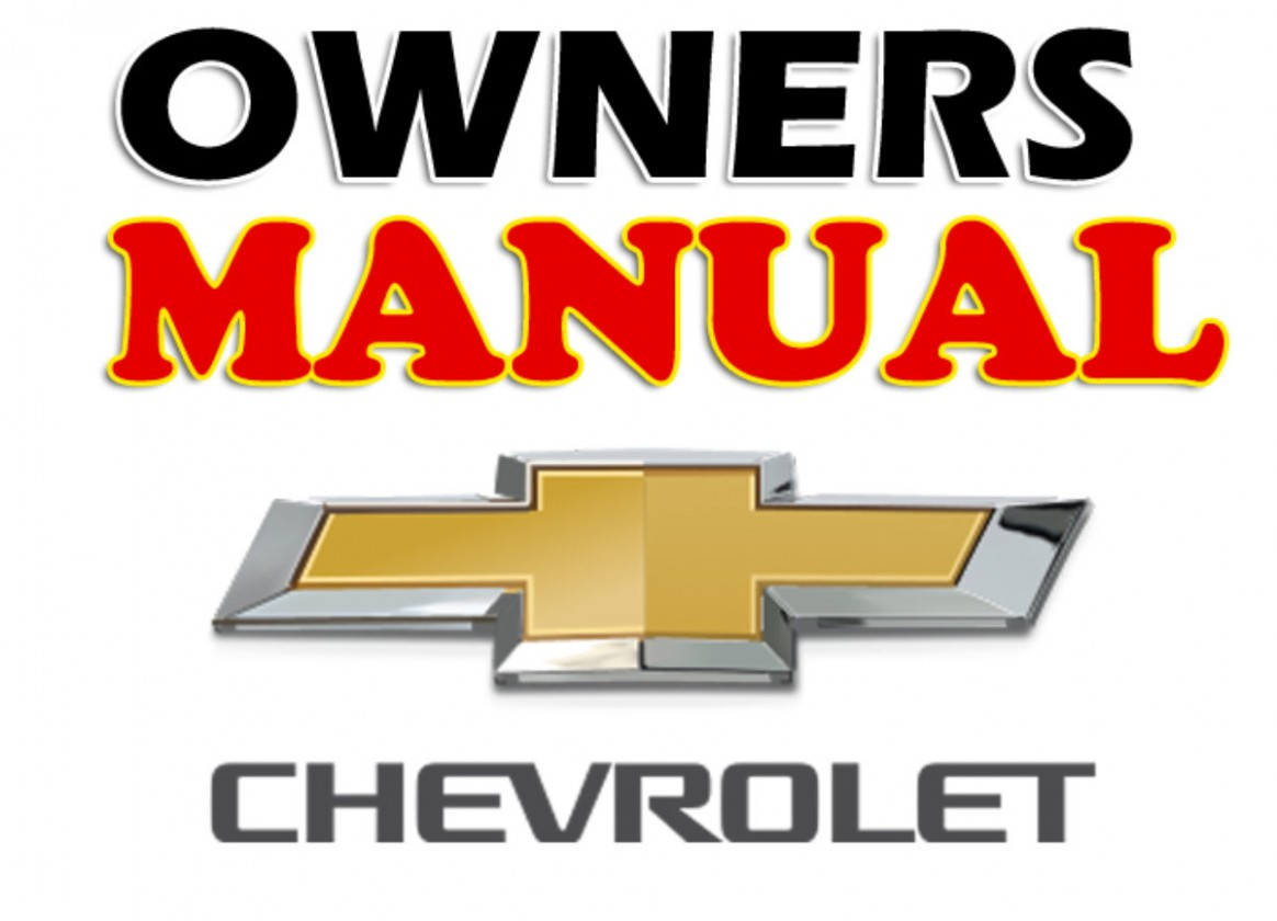 Chevrolet Owners Manual PDF Format Download - 2020 chevrolet owners manual