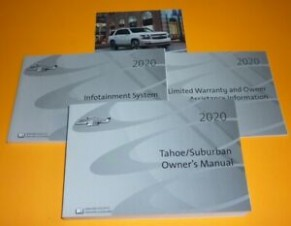 Details about 5 CHEVROLET TAHOE SUBURBAN OWNERS MANUAL SET 5 +INFOTAINMENT GUIDE LS LT NEW - 2020 chevrolet owners manual