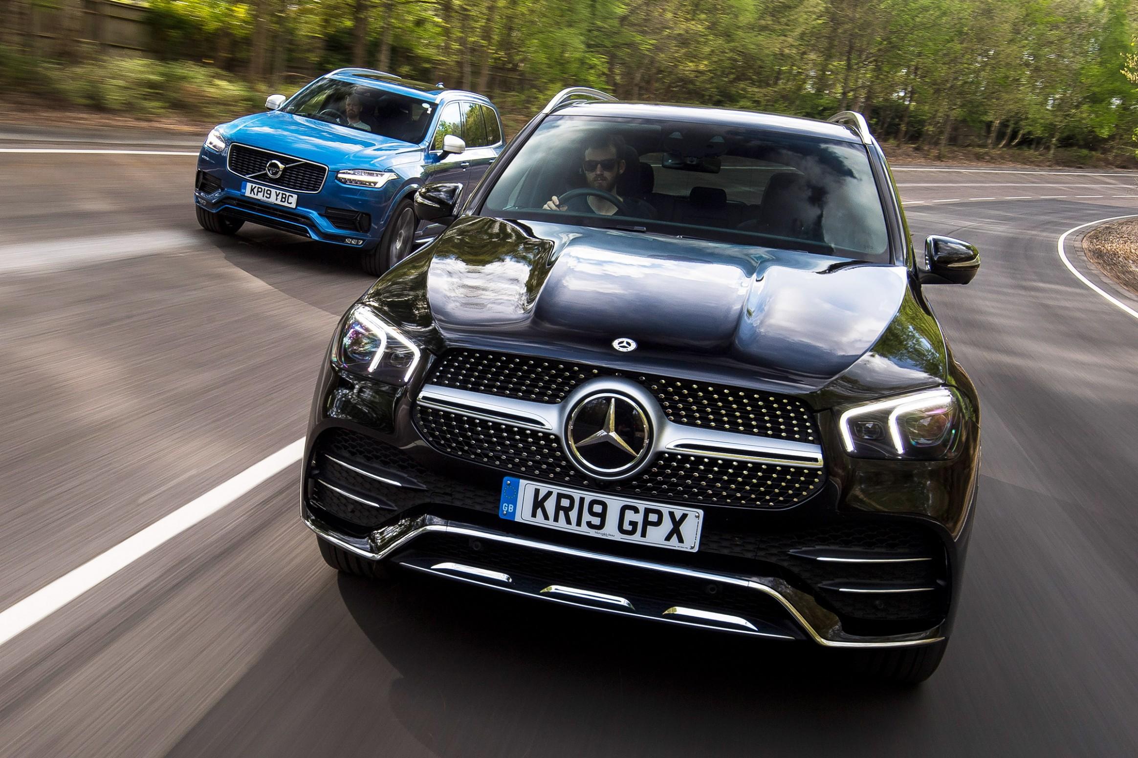 Mercedes GLE vs Volvo XC5 Auto Express - 2021 Gle Vs Volvo Xc90
