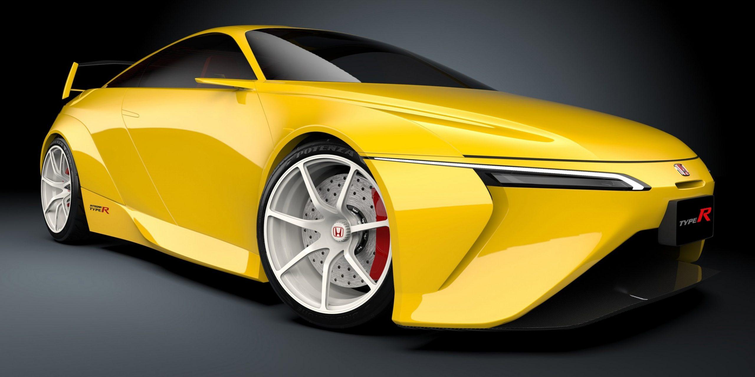 Modern Honda Integra Type-R Rendering Shows Long Overdue JDM - Acura Integra Type R 2021