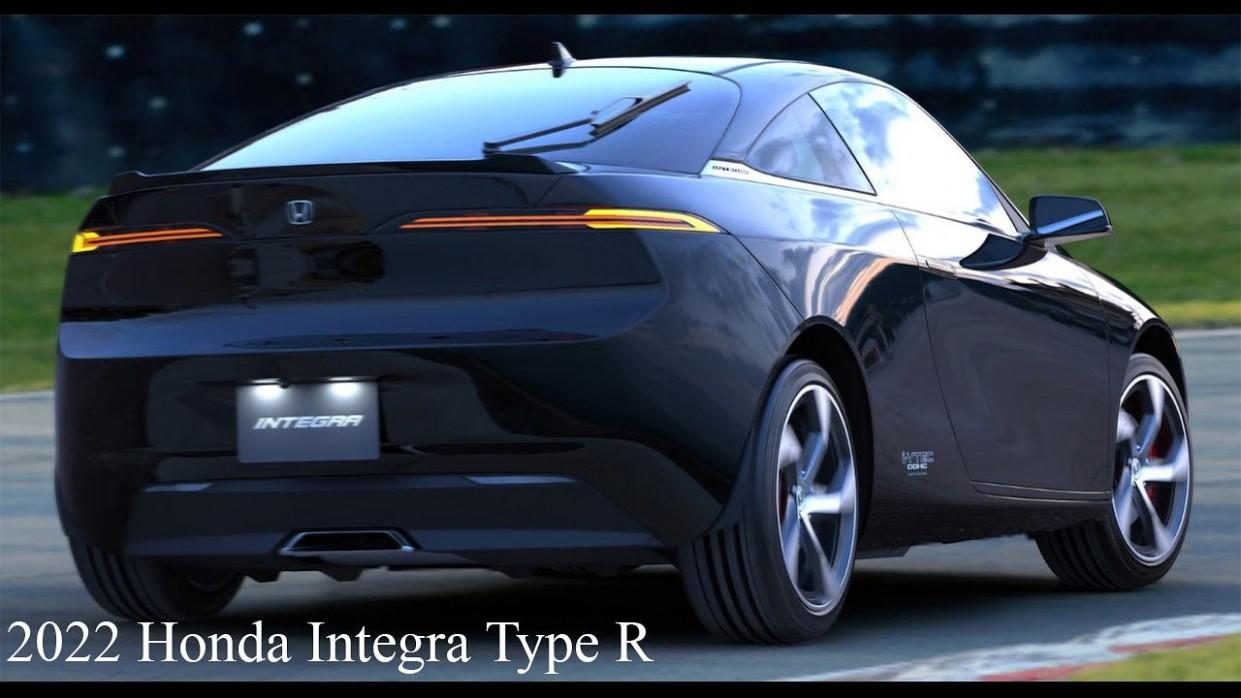 New 4-4 Honda Integra Type R - Rader, Bright design