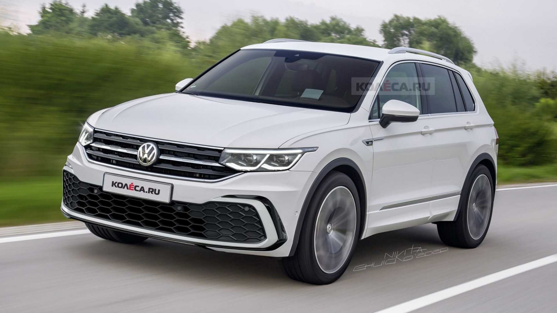 New And Refreshed 4 Volkswagen Tiguan Spied! - Volkswagen Suv 2021
