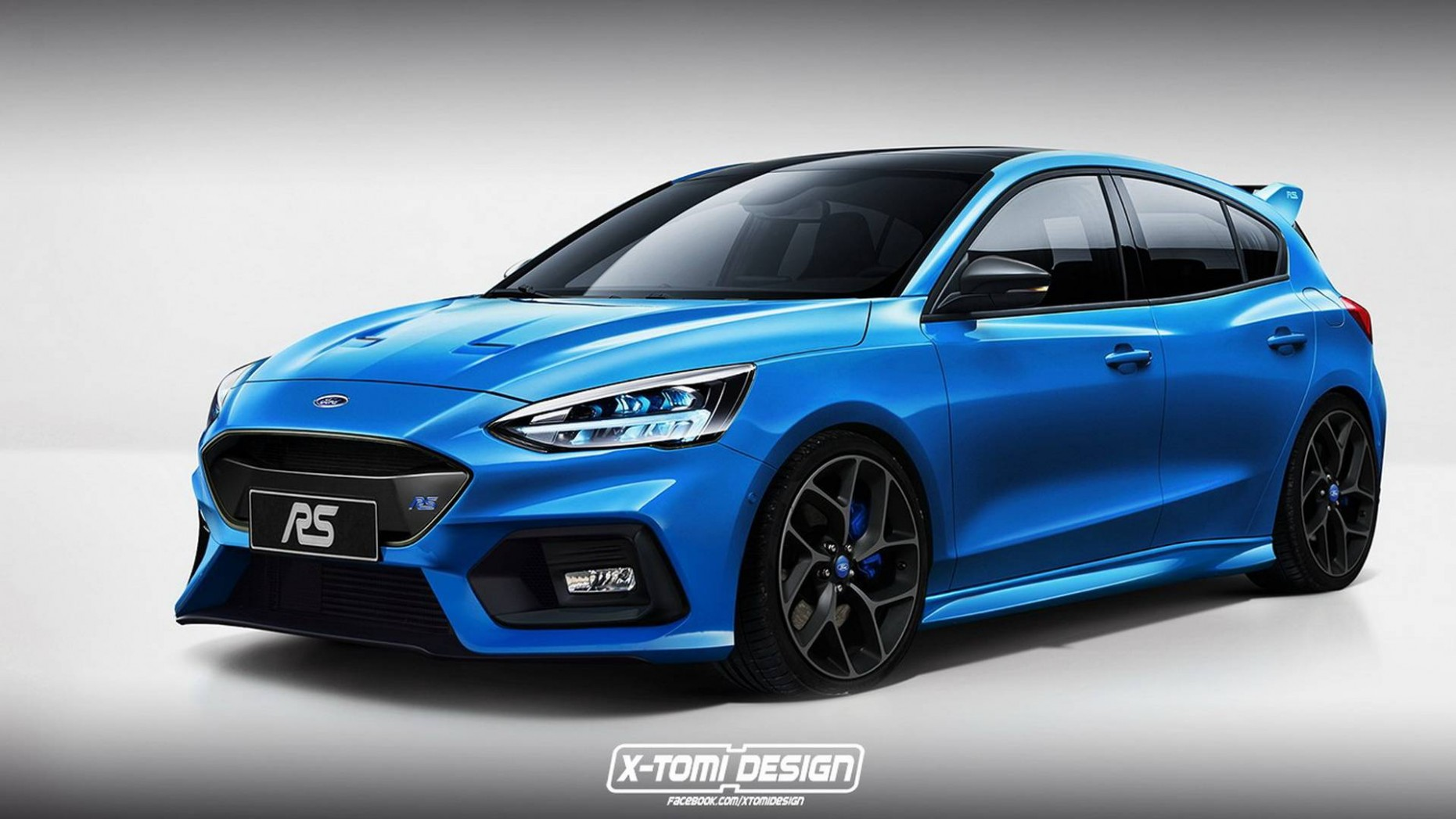 New Ford Focus RS With Electric Rear Axle Could Have Over 4 HP - Ford Focus St 2021