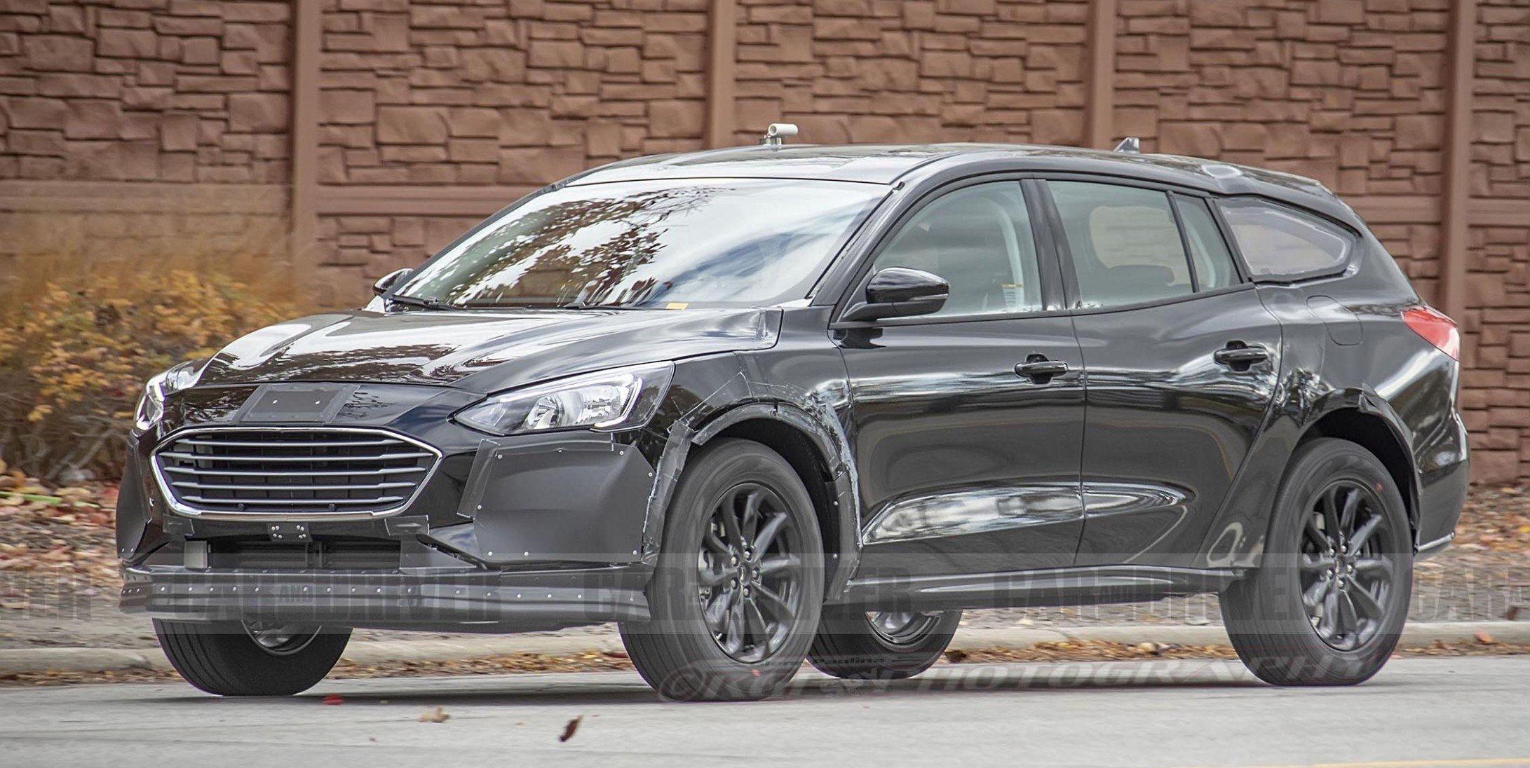 Next Ford Fusion Takes Shape as a Subaru Outback–Style Lifted Wagon - Ford Fusion 2021