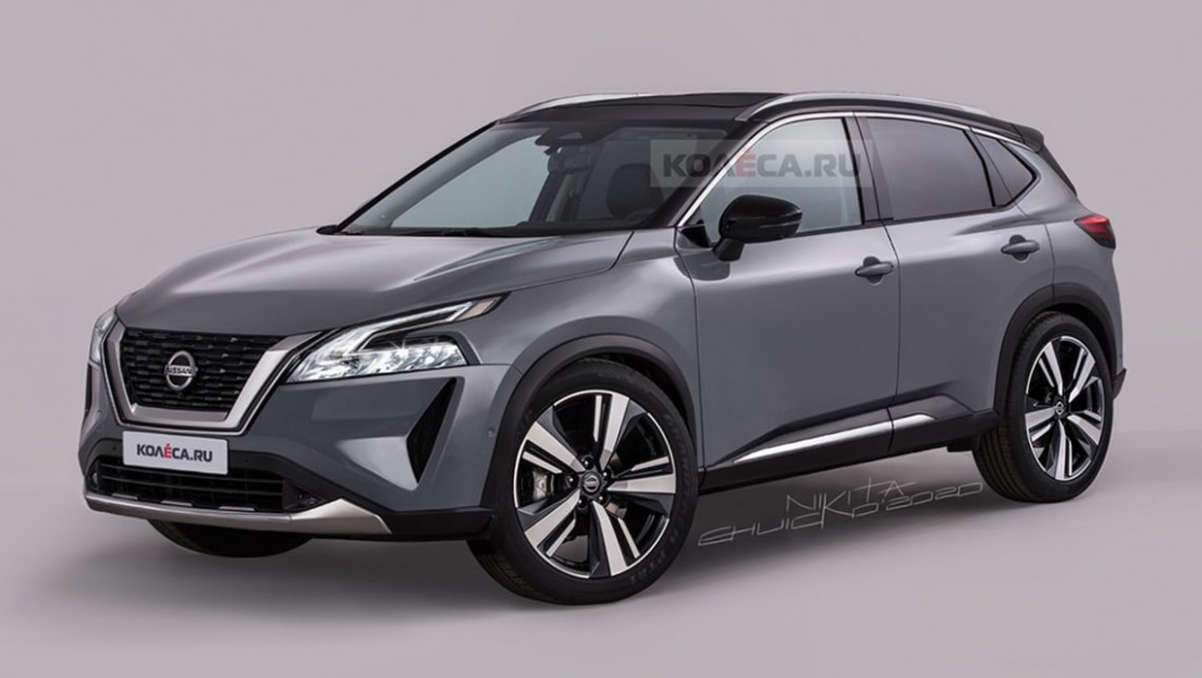 Nissan Qashqai 5 rendered! New Kia Seltos and Mitsubishi ASX