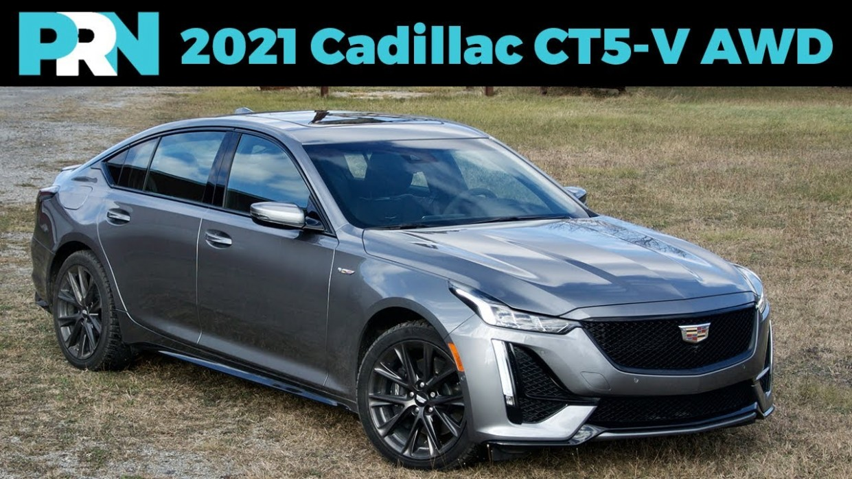Not the CTS-V Replacement 4 Cadillac CT4-V AWD Full Tour & Review - Cadillac V Series 2021