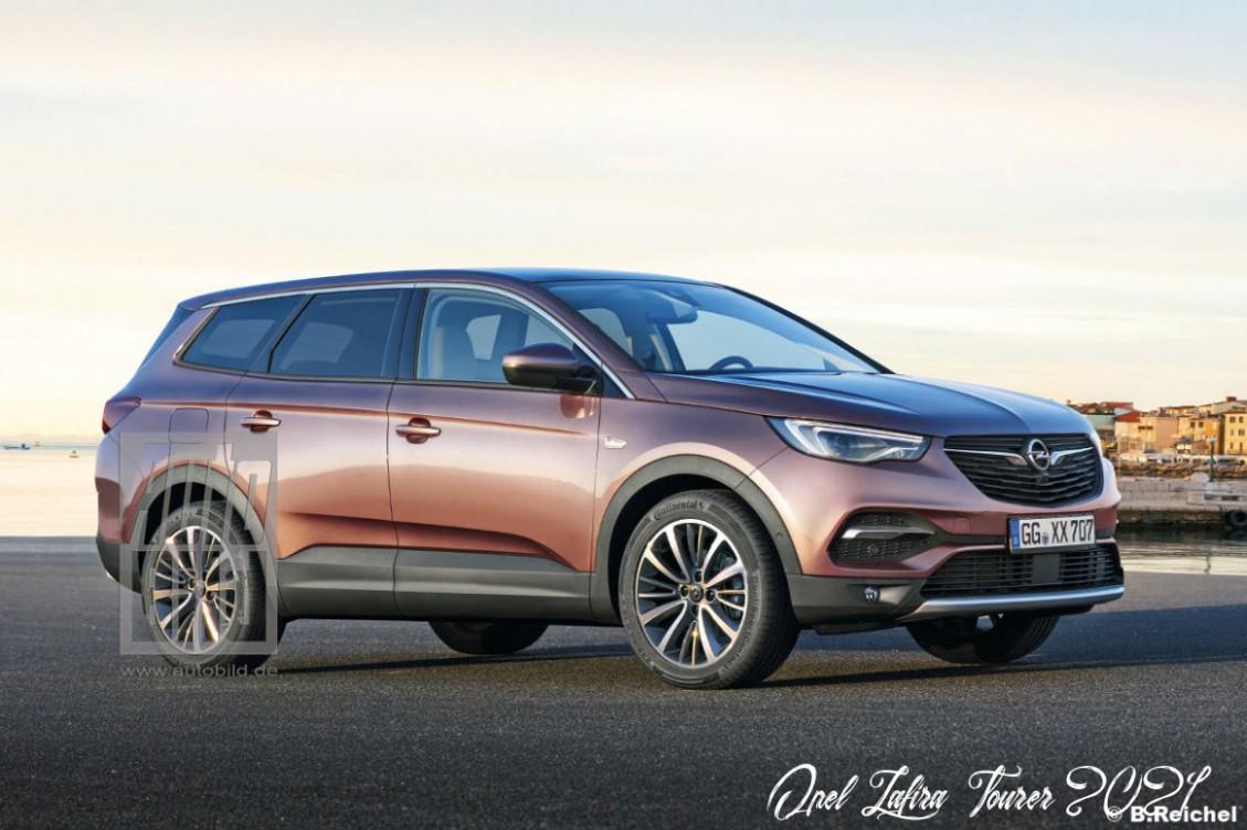 Opel Zafira Tourer 3 - Opel Zafira Suv 2021
