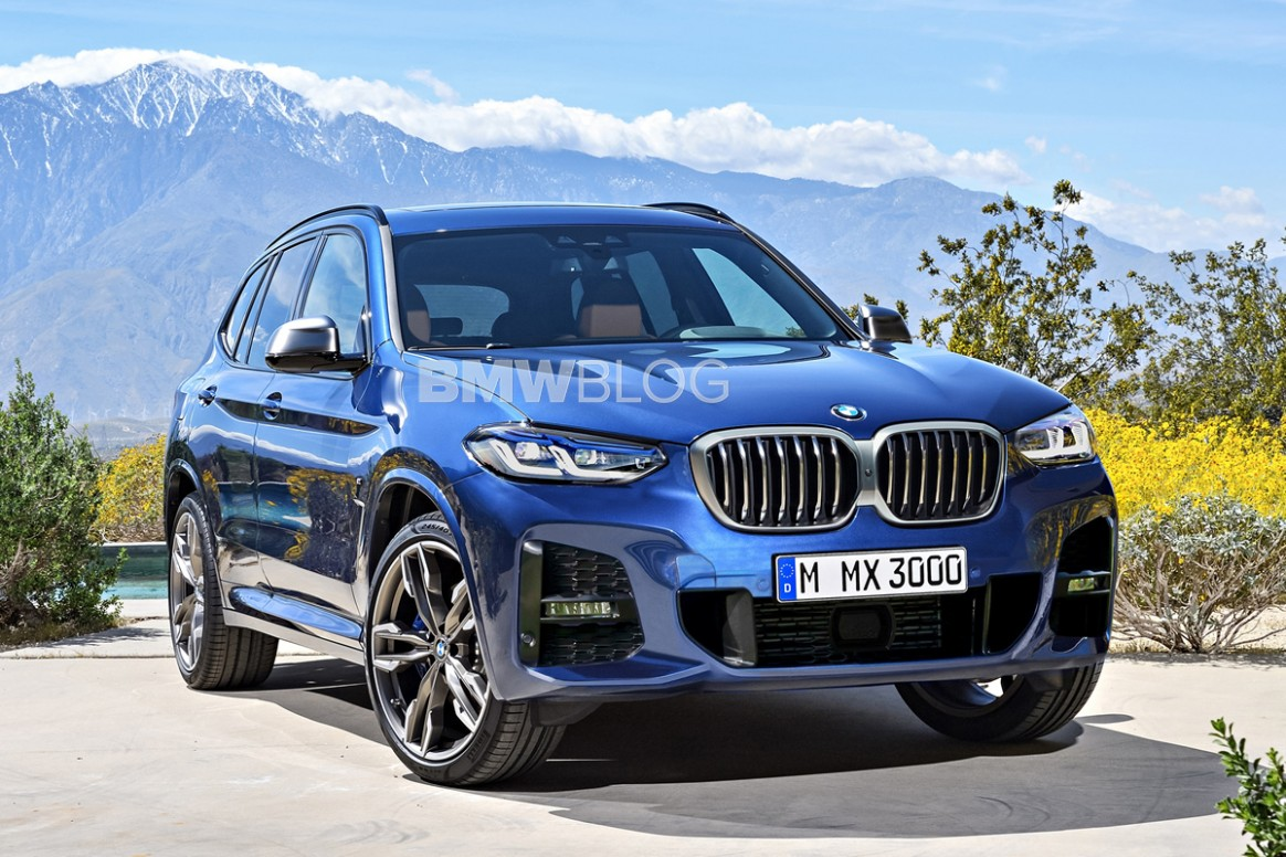 Rendering: BMW X5 Facelift arrives in second half of 5 - 2021 BMW X3 Release Date