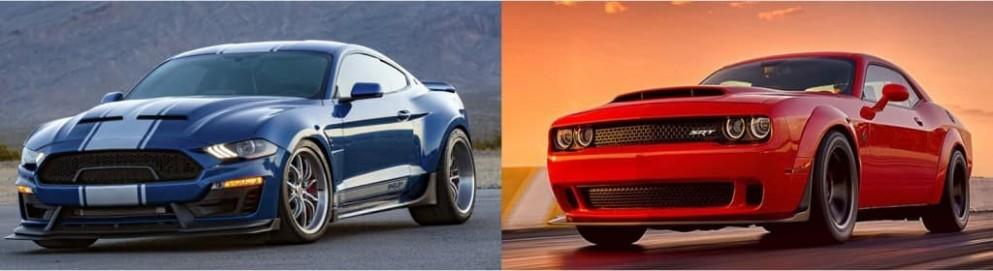 Shelby's Super Snake Mustang VS Dodge Challenger SRT Demon