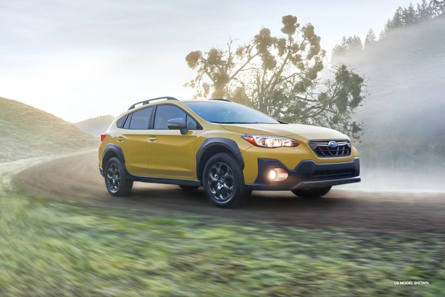 The new 5 Subaru Crosstrek - 5 Crosstrek - Subaru Canada - Subaru Canada 2021