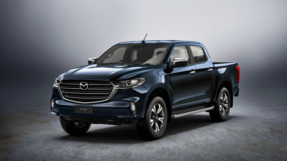 This is the new Mazda BT-4 4 - Mazda B50 2021
