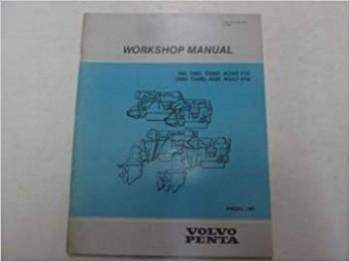 Volvo Penta MD TMD TAMD AQAD AQD 5A 5A Workshop Manual Engine
